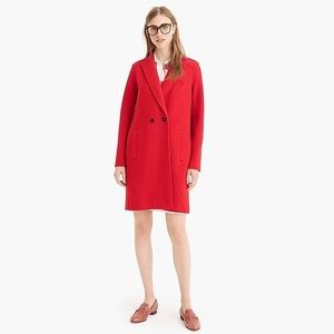 J. Crew Daphne Topcoat in Boiled Wool NEW WITH TAG